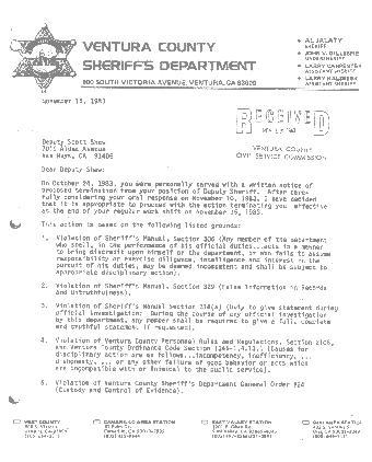 Insurance broker termination letter